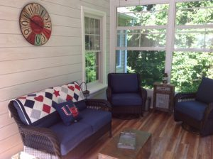 image shows sunroom built by Porch Conversion of Charlotte