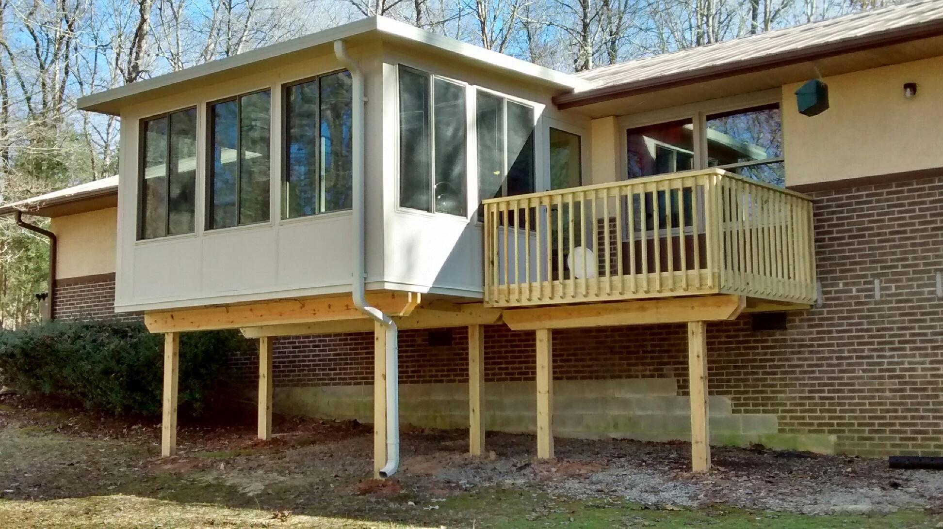 Screen Porch Conversions Patio Enclosures 3 Season