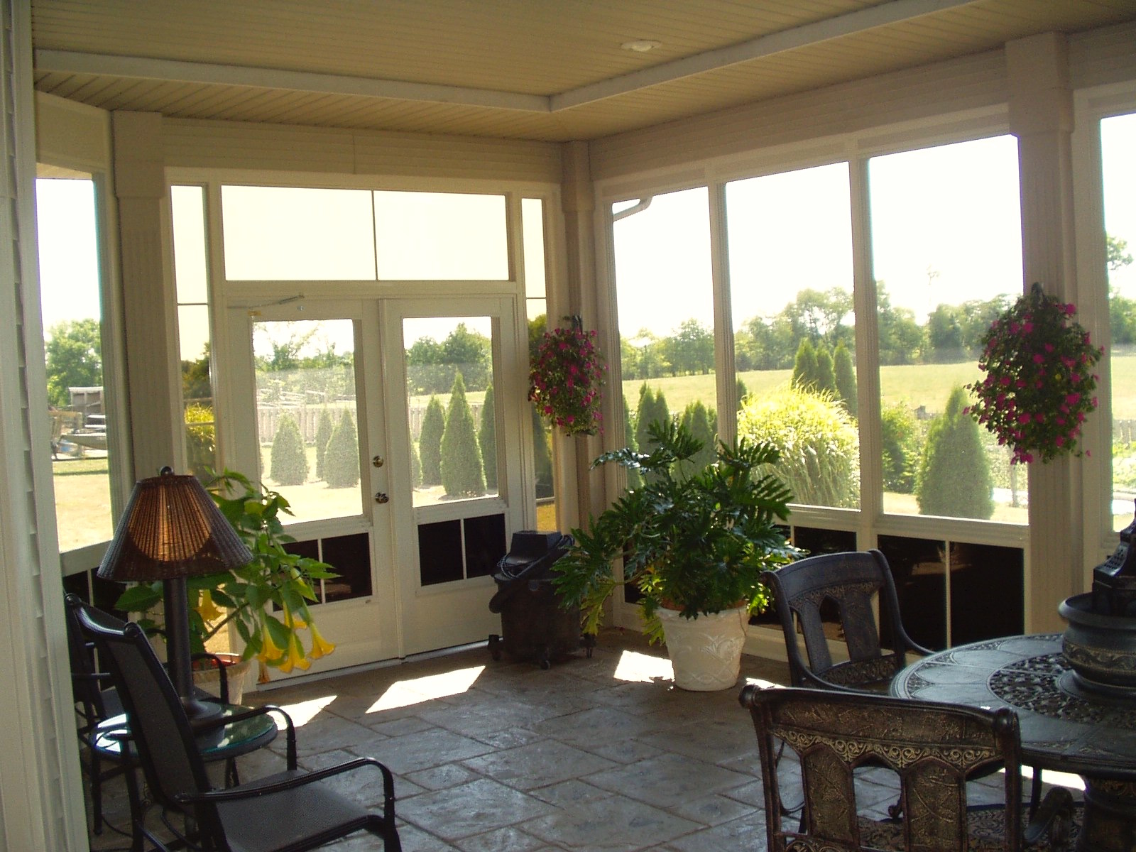 Sunrooms porch conversions free estimate porch for Porch sunroom