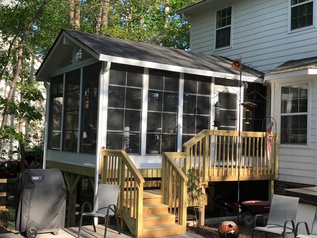 Convert Screened Porch To A 3 Season Sunroom Patio