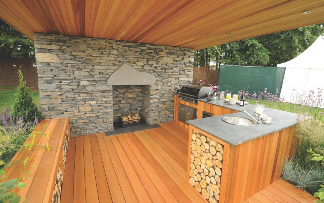 5 projects to create the perfect outdoor kitchen